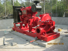 Split Casing Deutz Diesel Engine Fire Fighting Pump Set